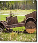 Road Side Art II Acrylic Print