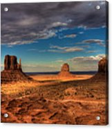 Road Through Monument Valley Acrylic Print