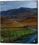 Road To Glenveagh Acrylic Print