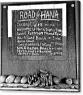 Road To Hana Study 02 Acrylic Print