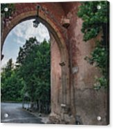 Road To Il Giardino Acrylic Print