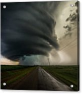 Road To Mesocyclone Acrylic Print