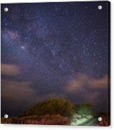 Road To Milky Way Acrylic Print