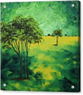 Road To Nowhere 1 By Madart Acrylic Print