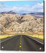 Road To Owl Creek Mountains Wyoming Acrylic Print