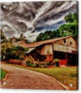 Road To Shiloh Farm's Barn Acrylic Print