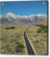 Road To Sierra  Acrylic Print
