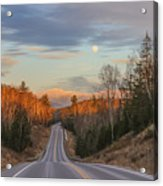 Road To The Moon Acrylic Print
