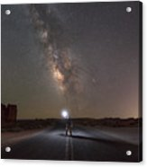 Hitchhike To The Galaxy Acrylic Print