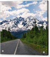Road To Valdez Acrylic Print