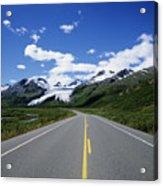 Road To Worthington Glacier Acrylic Print