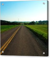 Road Weary Acrylic Print by Ross Powell