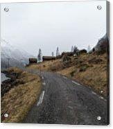 Roads Of Norway Acrylic Print