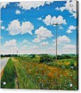 Roadside Prairie Acrylic Print