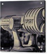 Roadside Telescope Acrylic Print