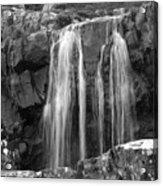 Roadside Waterfall - Ireland Acrylic Print by Mike McGlothlen