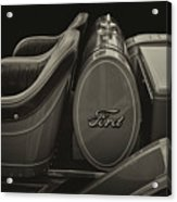 Roadster Antiqued Acrylic Print