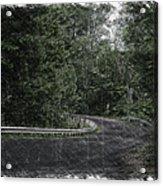 Roadway Fingers Lakes New York Area Pa 02 Acrylic Print