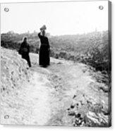 Roadway Near Bethlehem Acrylic Print