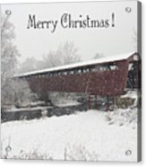 Roann Christmas Acrylic Print