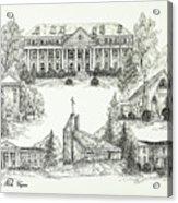 Roanoke College Acrylic Print