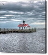 Roanoke Marshes Lighthouse, Manteo, North Carolina Acrylic Print
