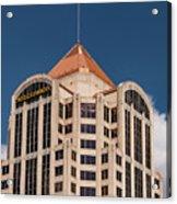 Roanoke Wells Fargo Bank Acrylic Print