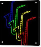 Roaring Jazz Acrylic Print