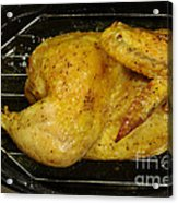 Roasting Half Chicken, 4 Of 4 Acrylic Print