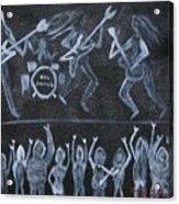 Rob Zombie Acrylic Print by Gregory Davis