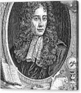 Robert Boyle, Irish Polymath Acrylic Print