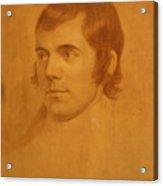 Robert Burns. Poet Acrylic Print