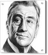 Robert De Niro 17aug18 Acrylic Print