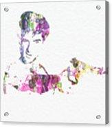 Robert De Niro Taxi Drvier Acrylic Print