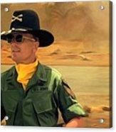 Robert Duvall @ Apocalypse Now Acrylic Print