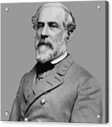 Robert E Lee - Confederate General Acrylic Print