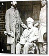 Robert E Lee Acrylic Print