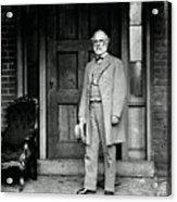Robert E. Lee In Richmond, Virginia Acrylic Print