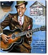 Robert Johnson Mississippi Delta Blues Acrylic Print