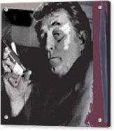 Robert Mitchum As Phillip Marlowe Neo Film Noir  The Big Sleep  1978. Acrylic Print