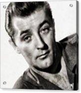 Robert Mitchum, Vintage Actor Acrylic Print