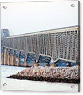 Robert O. Norris Bridge Acrylic Print