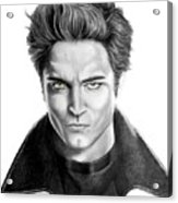 Robert Pattinson - Twilight's Edward Acrylic Print