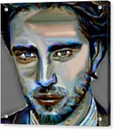 Robert Pattinson Acrylic Print