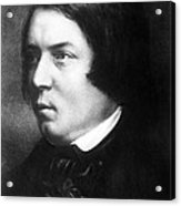 Robert Schumann, German Composer Acrylic Print