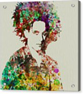 Robert Smith Cure 2 Acrylic Print by Naxart Studio