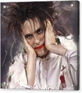 Robert Smith - The Cure Acrylic Print