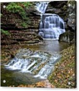 Robert Treman Waterfall Acrylic Print