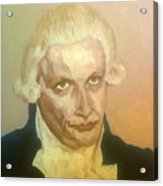 Robespierre Frowns  Acrylic Print