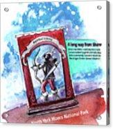 Robin Hood In Robin Hoods Bay Acrylic Print